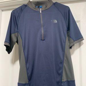 Men's North Face slim fit biking shirt